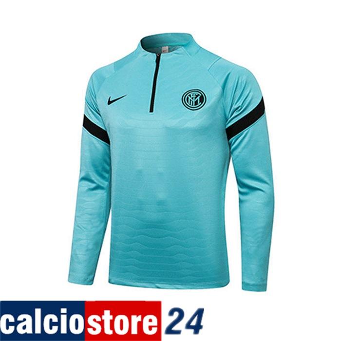 Collezione Felpa Allenamento Inter Milan Verde 2021/2022