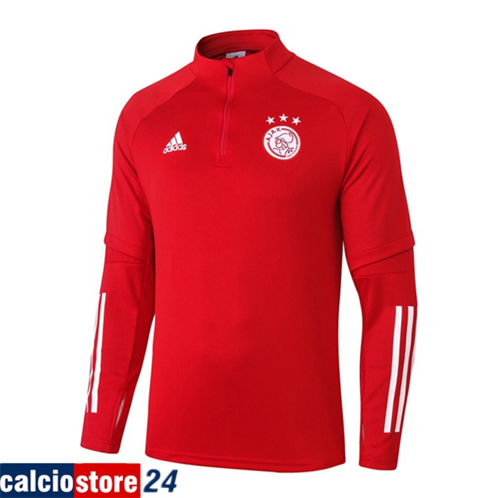 Shop Felpa Allenamento AFC Ajax 2020 2021 Basso Prezzo