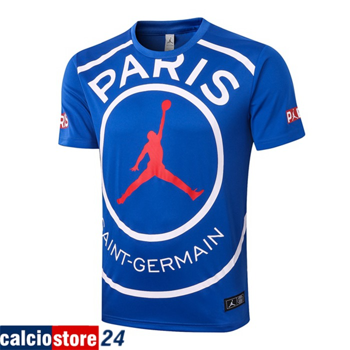 Poco Prezzo T Shirt Allenamento Paris PSG Jordan Blu 2020/2021