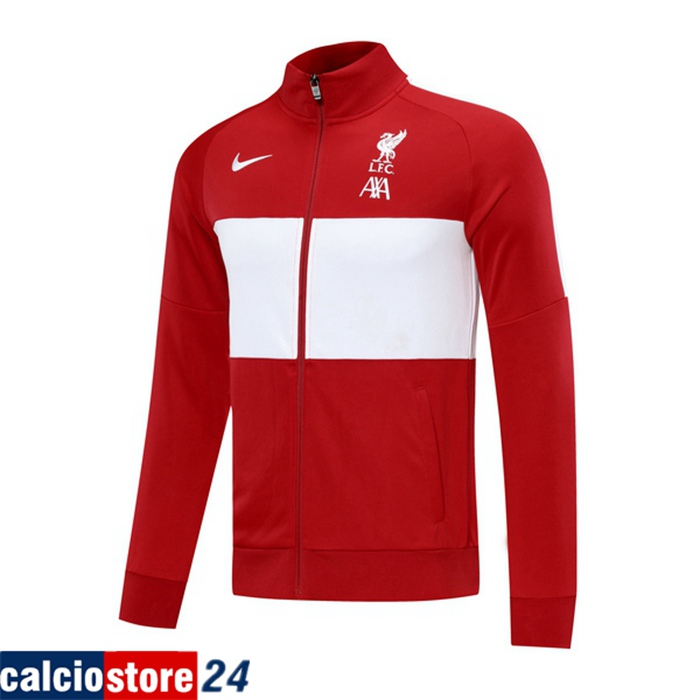 Nuova Giacca FC Liverpool Rosso 2020/2021