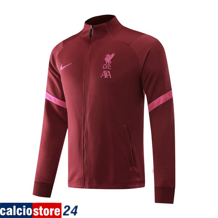 Nuove Giacca FC Liverpool Rosso 2020/2021